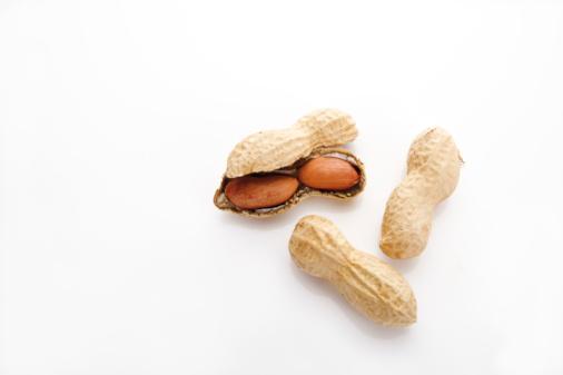 Nut - Food「Peanuts, elevated view」:スマホ壁紙(1)