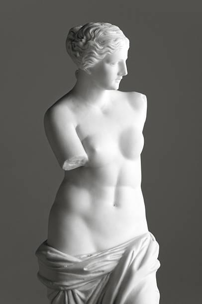 Venus de Milo on grey:スマホ壁紙(壁紙.com)