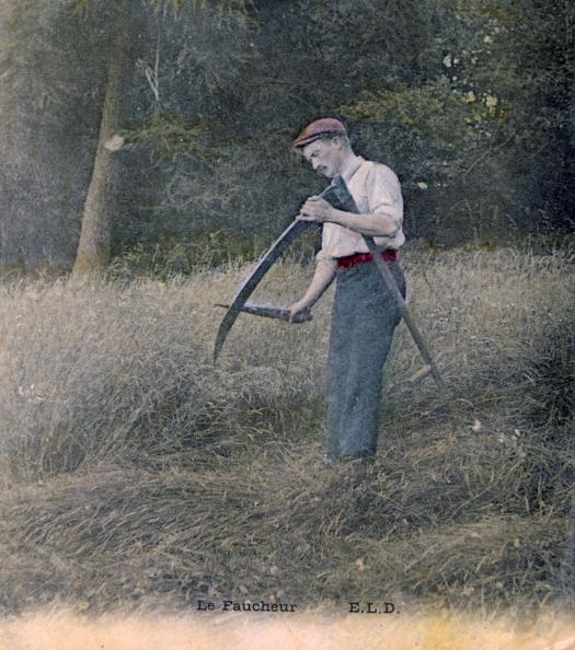 Sharpening「'The Reaper', c1900.」:写真・画像(3)[壁紙.com]