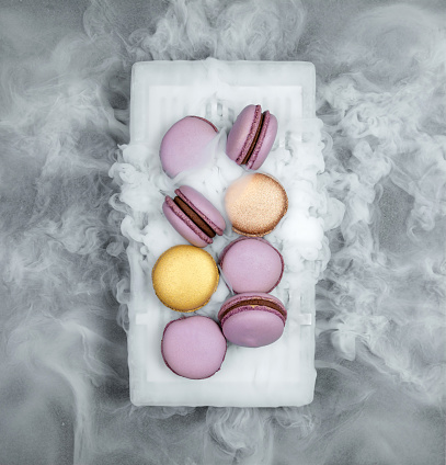 Biscuit「Macarons with dry ice」:スマホ壁紙(16)