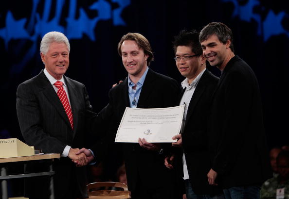 Founder「Luminaries Gather For Clinton Global Initiative Annual Meeting」:写真・画像(2)[壁紙.com]