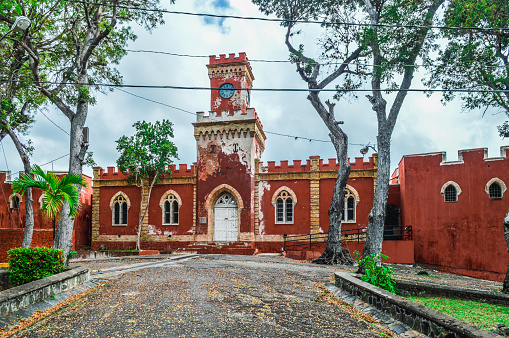 Restoring「Colonial fort in St. Thomas - Virgin Islands」:スマホ壁紙(17)