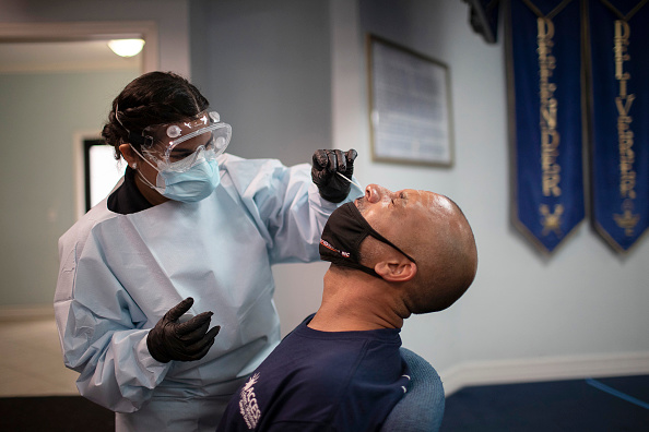 Medical Test「Coronavirus Testing Continues In Florida」:写真・画像(8)[壁紙.com]