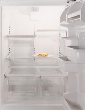 Part of a Series「Sandwich in Empty Refrigerator」:スマホ壁紙(4)