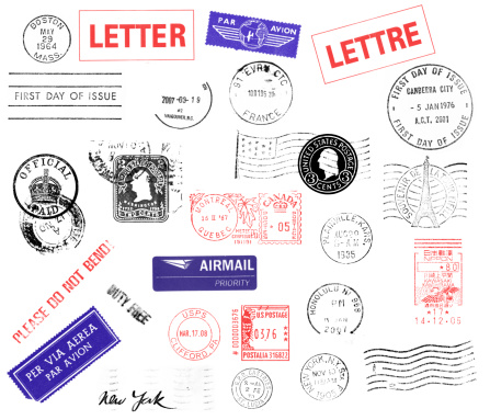 French Culture「Postmarks」:スマホ壁紙(19)