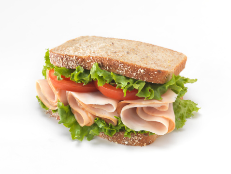 Whole Wheat「Sliced Smoked Turkey Sandwich」:スマホ壁紙(3)