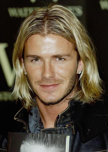 Long Hair「David Beckham Book Signing」:写真・画像(9)[壁紙.com]
