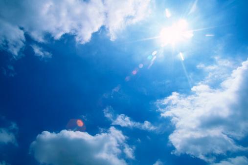 Cloud - Sky「Sunbeam」:スマホ壁紙(4)