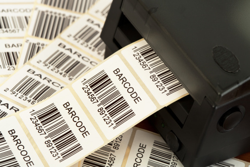 Identity「Lots of labels printed from a barcode printer」:スマホ壁紙(8)