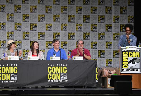 "David Silverman「Comic-Con International 2018 - ""The Simpsons"" Panel」:写真・画像(0)[壁紙.com]"