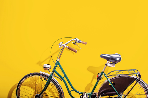 Cycle - Vehicle「Green bicycle」:スマホ壁紙(10)