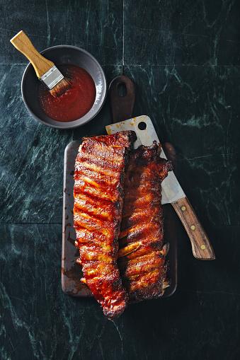 Barbecue Grill「Bbq pork ribs」:スマホ壁紙(7)