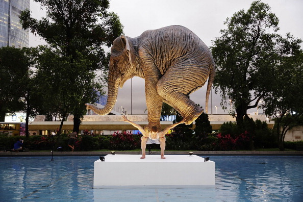 Jessica Hromas「Fabien Merelle's Life-Sized Sculpture Of An Elephant Balancing On A Man」:写真・画像(17)[壁紙.com]