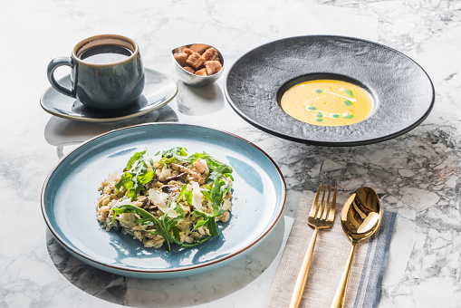 Ready-To-Eat「Farro risotto with black truffle」:スマホ壁紙(2)