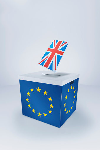 Voting Ballot「British Flag at EU Ballot Box」:スマホ壁紙(0)
