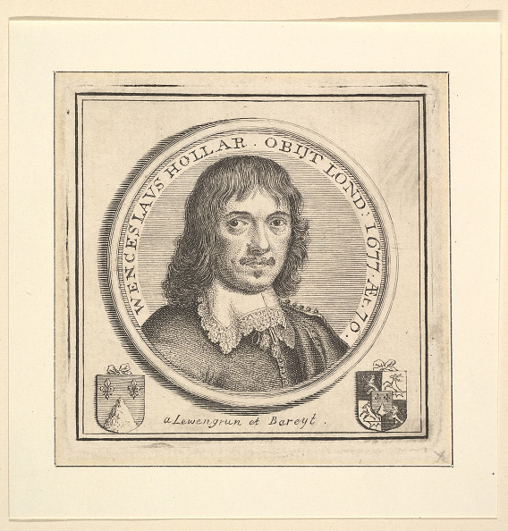Computer Graphic「Bust Of Hollar In A Circular Frame (Published In Vertues」:写真・画像(11)[壁紙.com]
