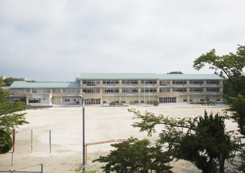 Elementary School「School building」:スマホ壁紙(18)