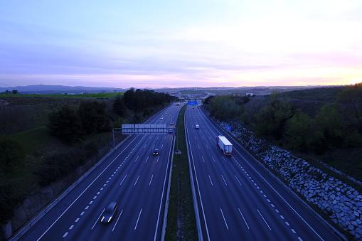 Motor Vehicle「Highway AP-7 in Catalonia Spain」:スマホ壁紙(19)
