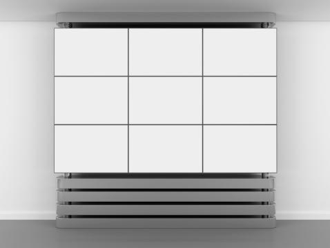 Video Wall「3d blank video wall panel」:スマホ壁紙(11)