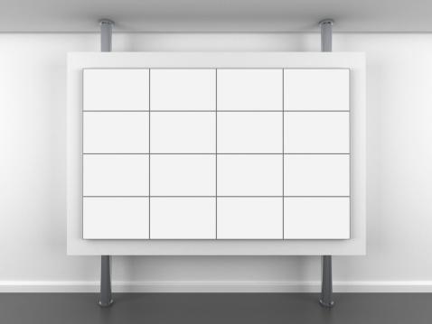 Interactivity「3d blank video wall stand」:スマホ壁紙(7)