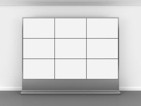 Projection Equipment「3d blank video wall」:スマホ壁紙(6)