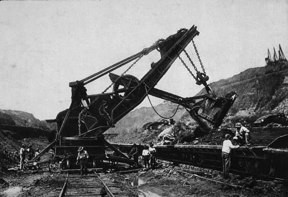 1900-1909「Shovel On Panama Canal Construction Site」:写真・画像(6)[壁紙.com]