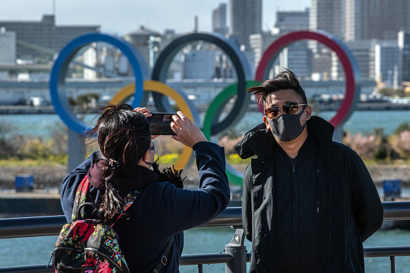 The Olympic Games「Concern In Japan As Covid-19 Spreads」:写真・画像(1)[壁紙.com]