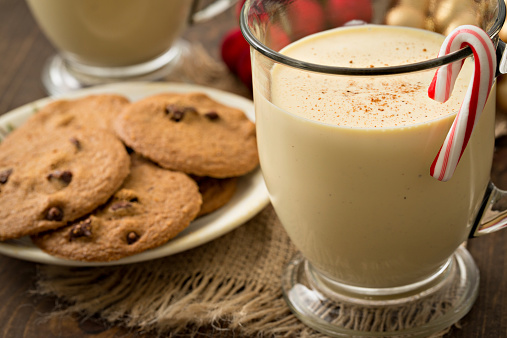 Candy Cane「Eggnog And Cookies For Two」:スマホ壁紙(3)