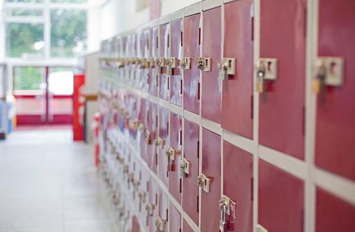 University Student「Lockers in an educational setting」:スマホ壁紙(2)