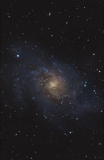 Star - Space「Astrophotography of M33 spiral galaxy」:スマホ壁紙(0)