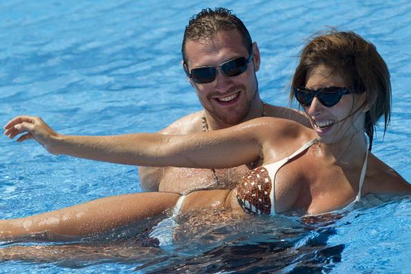 Tyson Fury「Max Clifford Celebrity Golf Challenge Fund-Raising Weekend At The La Cala Resort - Day 2」:写真・画像(10)[壁紙.com]