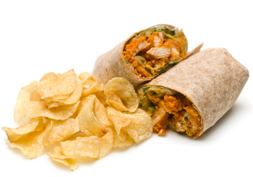 Chicken Wing「buffalo chicken wrap and chips」:スマホ壁紙(3)