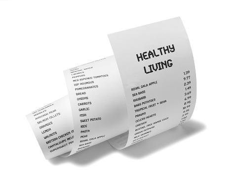 Retail「Healthy Living on White Paper」:スマホ壁紙(2)