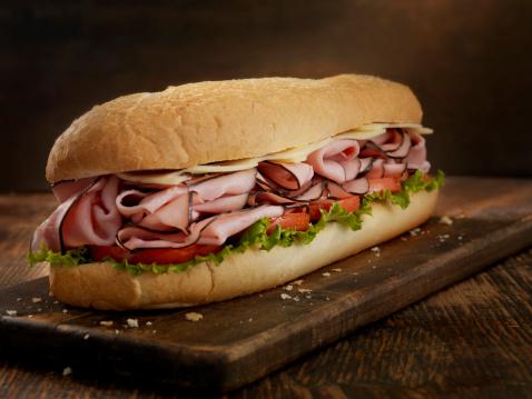 Gourmet「Foot Long Ham and Swiss Cheese Sub」:スマホ壁紙(11)