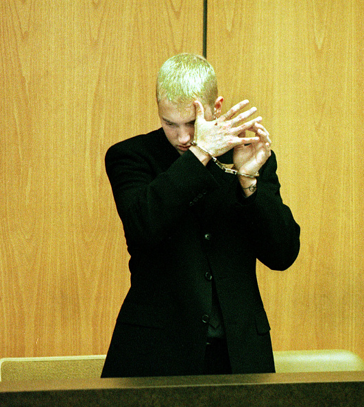 Men「RAPPER EMINEM ARRESTED FOR ASSAULT」:写真・画像(12)[壁紙.com]