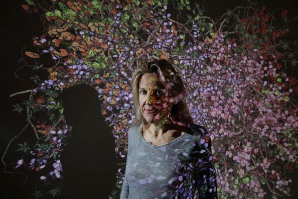Jessica Hromas「Jennifer Steinkamp Exhibiton Opens To The Public」:写真・画像(18)[壁紙.com]