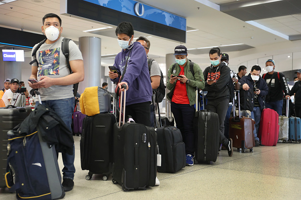 Airport「Coronavirus Pandemic Causes Climate Of Anxiety And Changing Routines In America」:写真・画像(0)[壁紙.com]