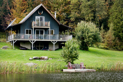 Deck Chair「Cottage by the Lake」:スマホ壁紙(15)