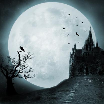 Moon「Old castle」:スマホ壁紙(14)