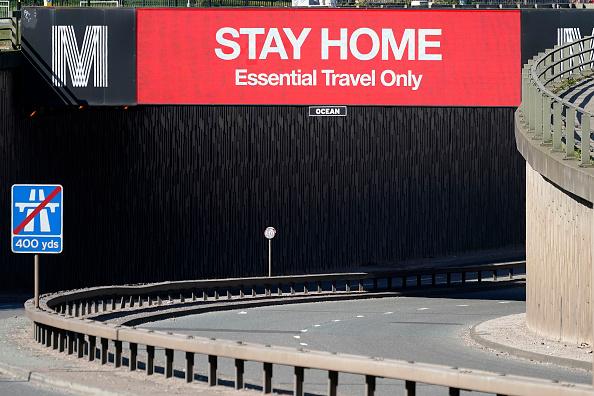 Stay at Home Order「UK On Lockdown Due To Coronavirus Pandemic」:写真・画像(4)[壁紙.com]