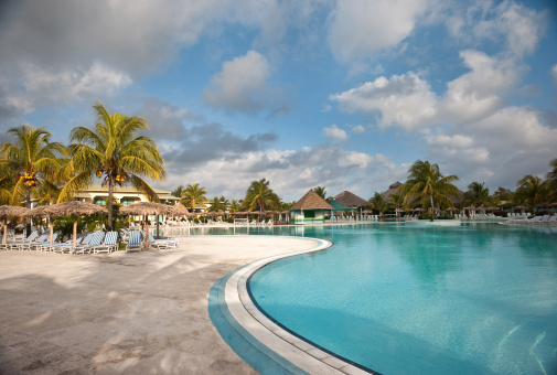 Resort Swimming Pool「Caribbean Resort」:スマホ壁紙(16)