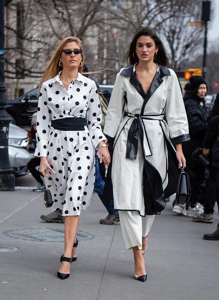 White Color「Street Style - New York Fashion Week February 2019 - Day 5」:写真・画像(10)[壁紙.com]