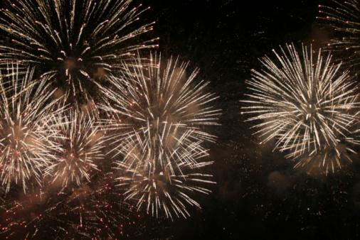Bang - Single Word「Firework Display on Night Sky」:スマホ壁紙(10)
