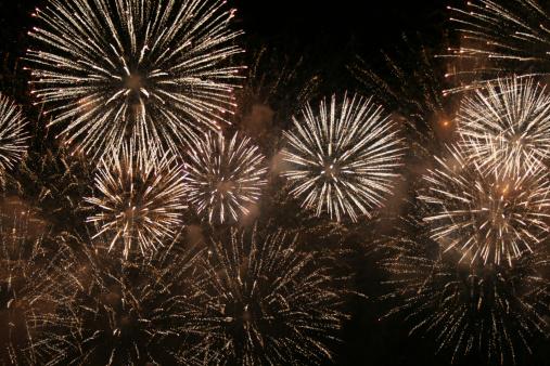 Bang - Single Word「Firework Display on Night Sky」:スマホ壁紙(11)