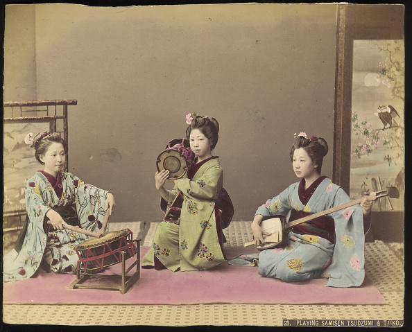 Musical instrument「Japanese Musicians」:写真・画像(3)[壁紙.com]