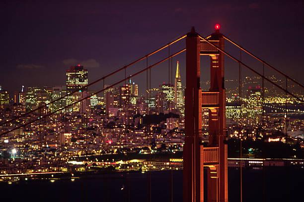 Lights of San Francisco:スマホ壁紙(壁紙.com)