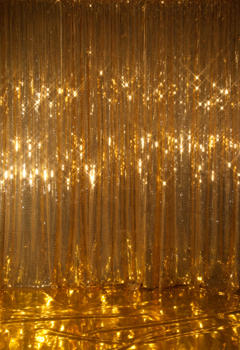 Curtain「Gold sparkle curtain/stage」:スマホ壁紙(7)