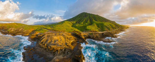 USA, Haswaii, Oahu, Hanauma Bay Nature Preserve, Hanauma Bay:スマホ壁紙(壁紙.com)