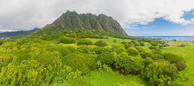 コオラウ山脈「USA, Haswaii, Oahu, Ko'olau Range」:スマホ壁紙(5)