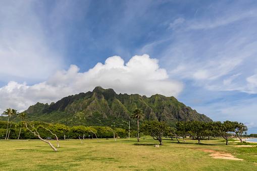 コオラウ山脈「USA, Haswaii, Oahu, Ko'olau Range」:スマホ壁紙(13)